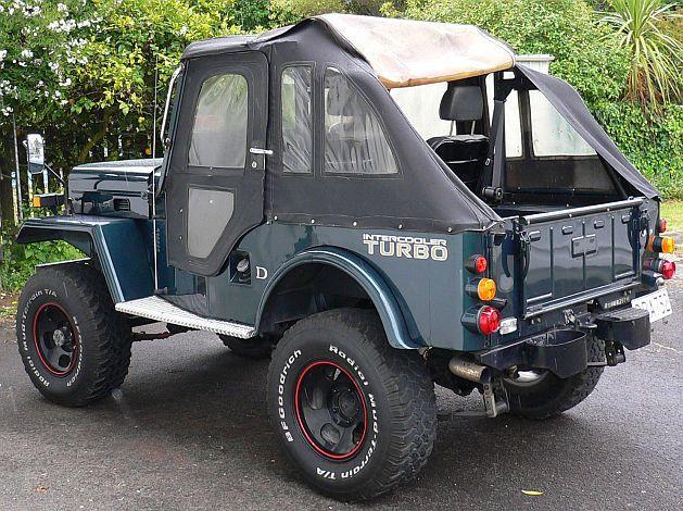 Mitsubishi Jeep Turbo ジープ 四駆 キャンプ
