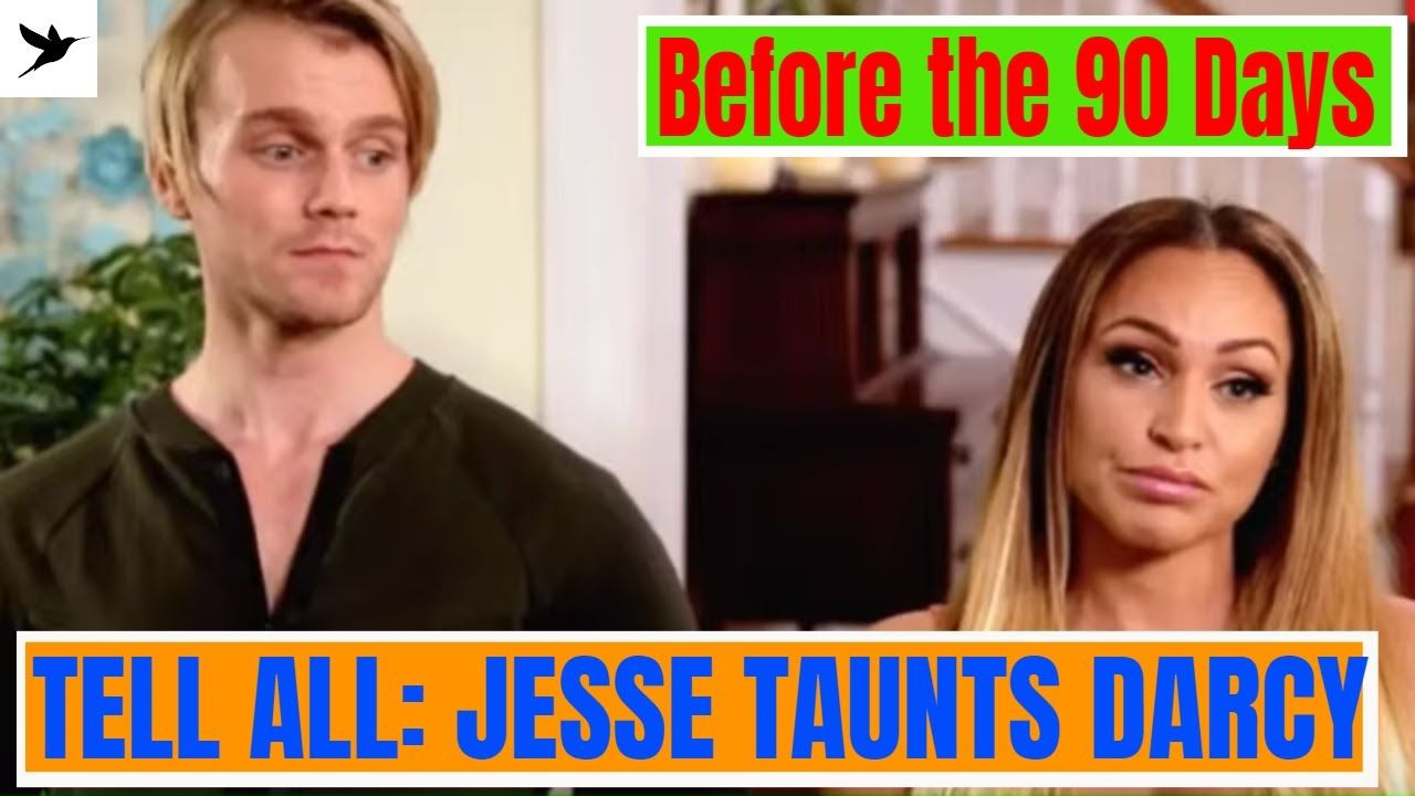 Before The 90 Days Review Jesse Meester At The Tell All Youtube Fiance Humor 90 Day Fiance Fiance