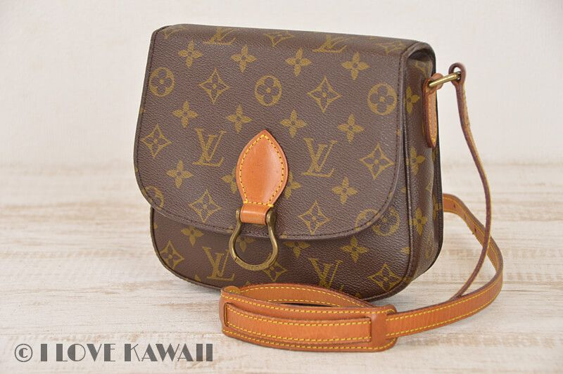 f5ac253a3b5d Louis Vuitton Monogram Saint Cloud MM Shoulder Bag M51243