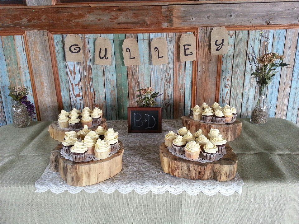 Outdoor Country Wedding Shower Ideas: Vintage Country Theme Bridal Shower.