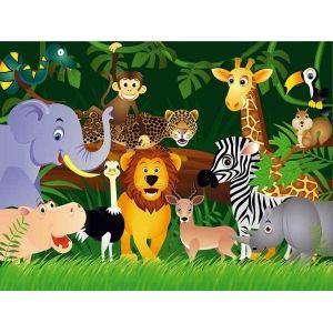 fotomurales fotomurales infantiles animales de la