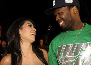 Rapper 50 Cent Has Slammed Kanye West For Dating Reality Star Kim Kardashian Calling Her Trash The 37 Year Old Rapper Whose Real Nam Kim K Lates