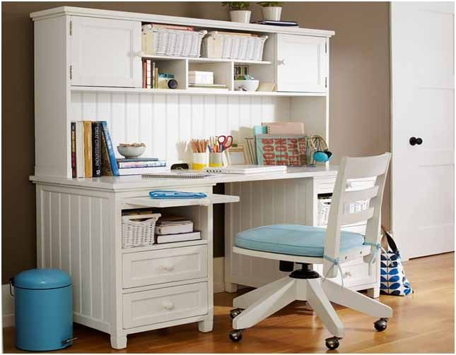 White Study Table Designs For Kids Office Pinterest