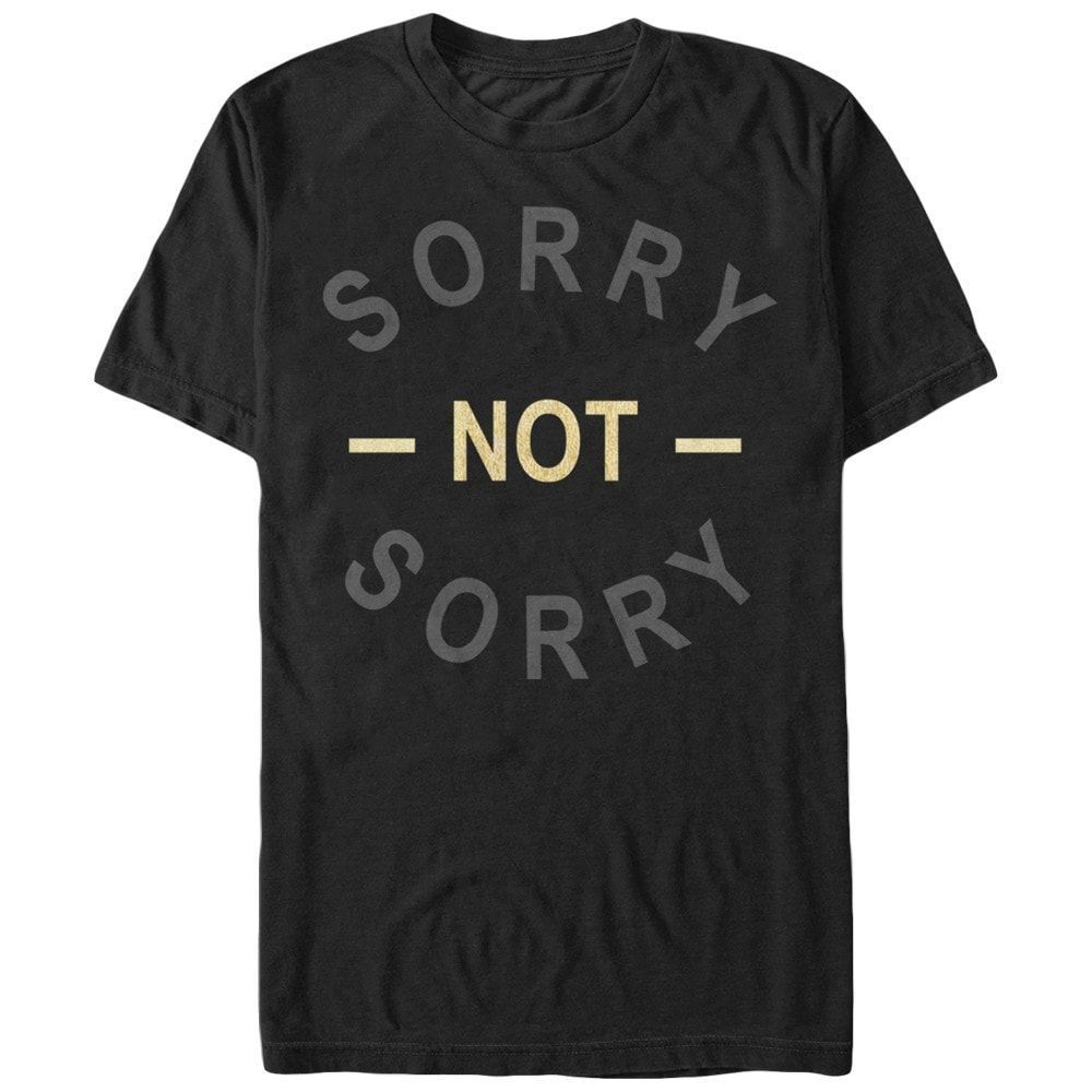 Chin Up - Super Sorry Adult Regular Fit T-Shirt
