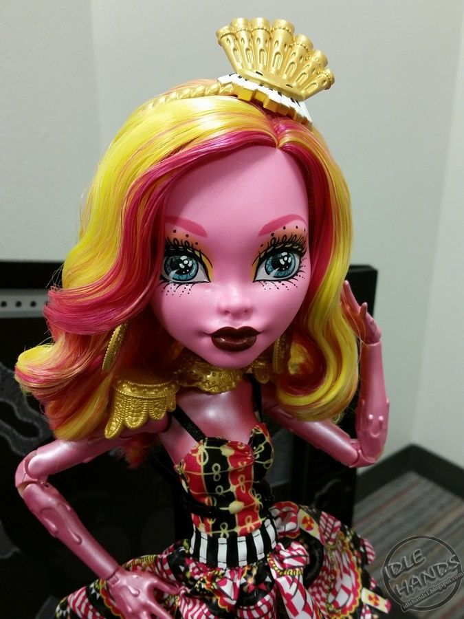 Monster high dress up operetta hairstyle