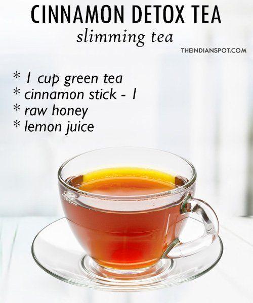 Cinnamon Tea Recipe Detox Tea Recipe Green Tea Detox Morning Detox Tea