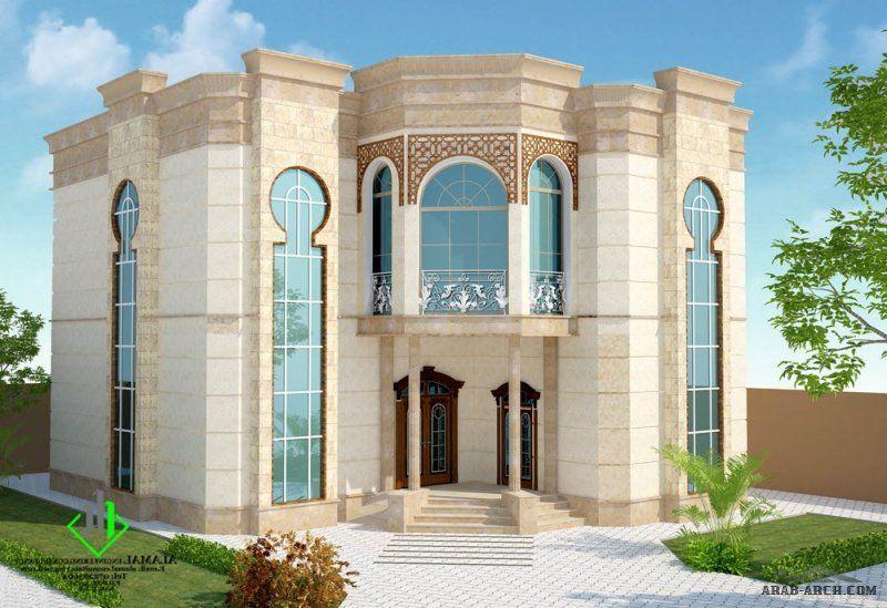 تصاميم واجهات رائعه من الامل للاستشارات الهندسية House Styles House Design Mansions
