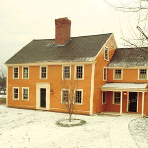 The Acton House Colonial House Exteriors Colonial Farmhouse