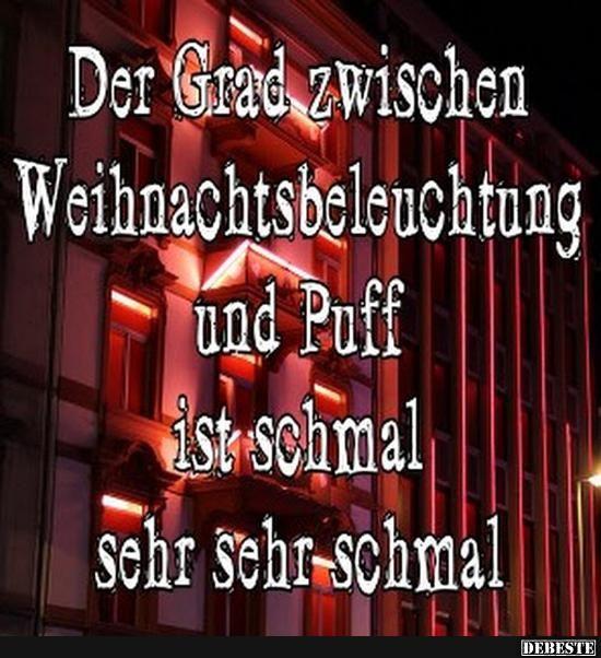 Bayerische Weihnachtssprüche.Der Grad Zwischen Weihnachtsbeleuchtung Und Puff Lustige Bilder