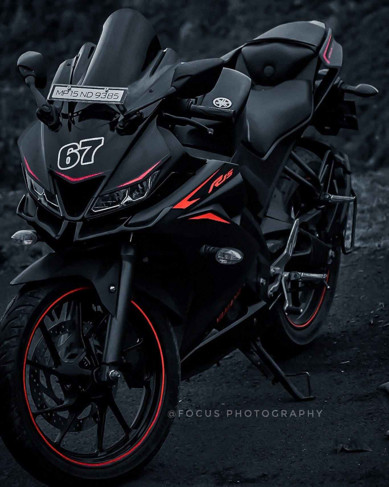 Yamaha Yzf R15 V3 Black And Red R15 Yamaha Bike Pic Super Bikes