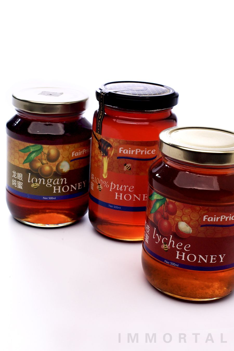 Fairprice Honey Packaging Design By Immortal Brand Engagement Honey Packaging Consumer Packaging Food