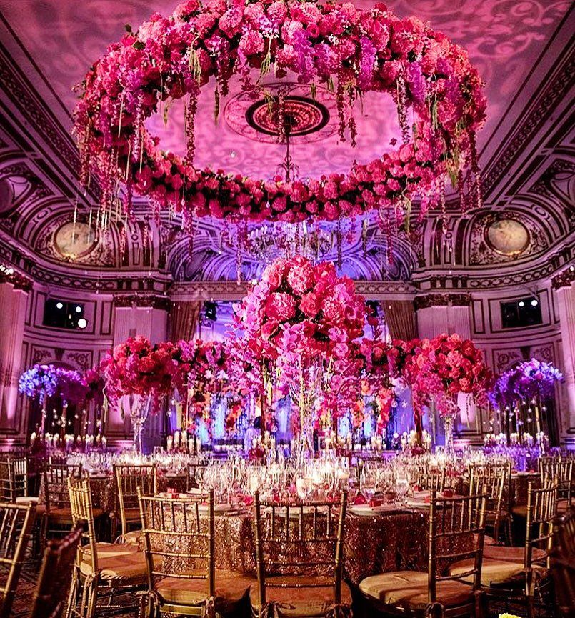 The Plaza Hotel In Manhattan Indian Wedding Theme Indian Wedding Receptions Indian Wedding Venue