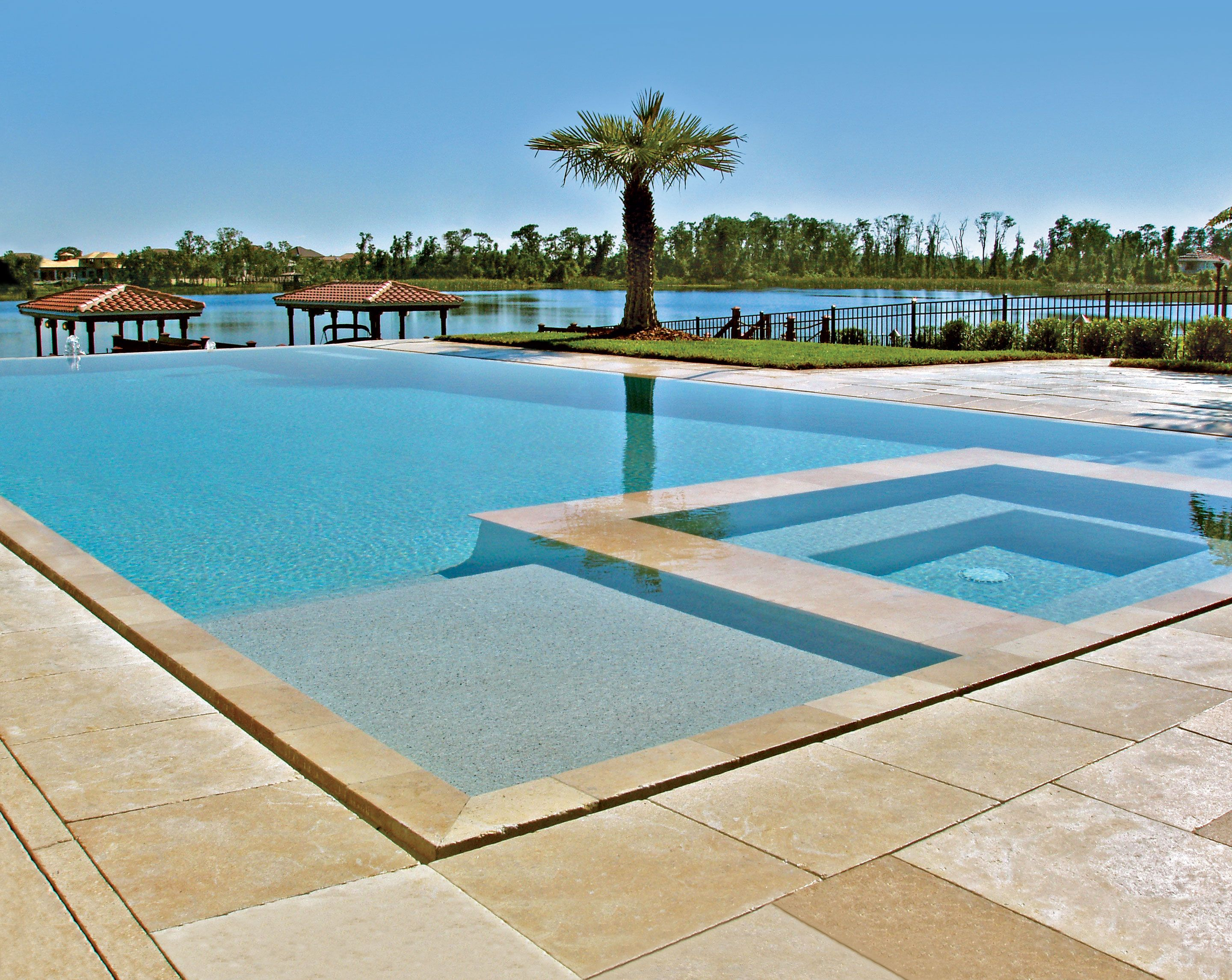 Infinity Pool built by Blue Haven Pools Orlando.   Pools ...