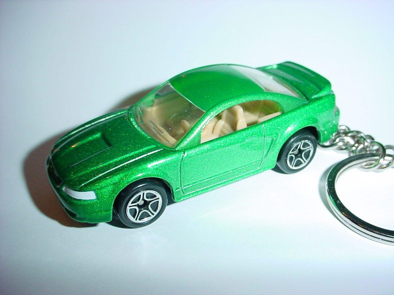 3d 2000 Ford Mustang Gt Custom Keychain By Brian Thornton Keyring