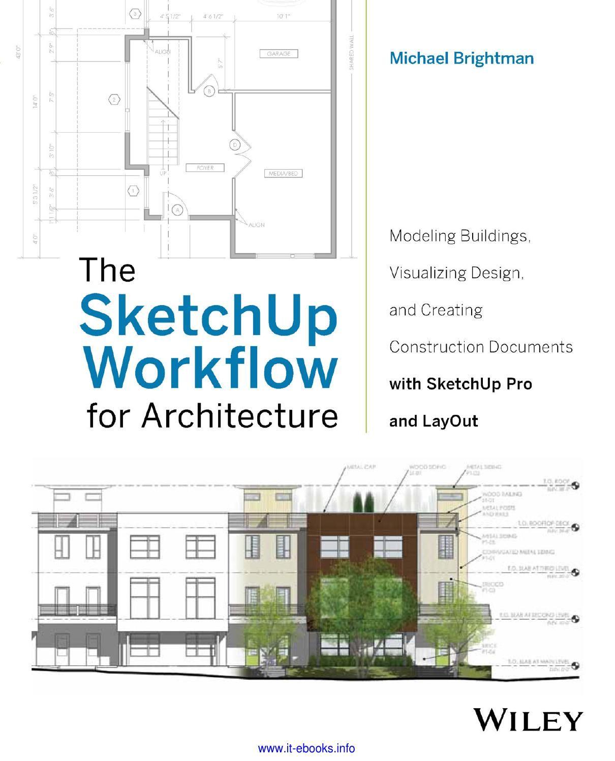 The sketchup workflow for architecture | Disenos de unas ...