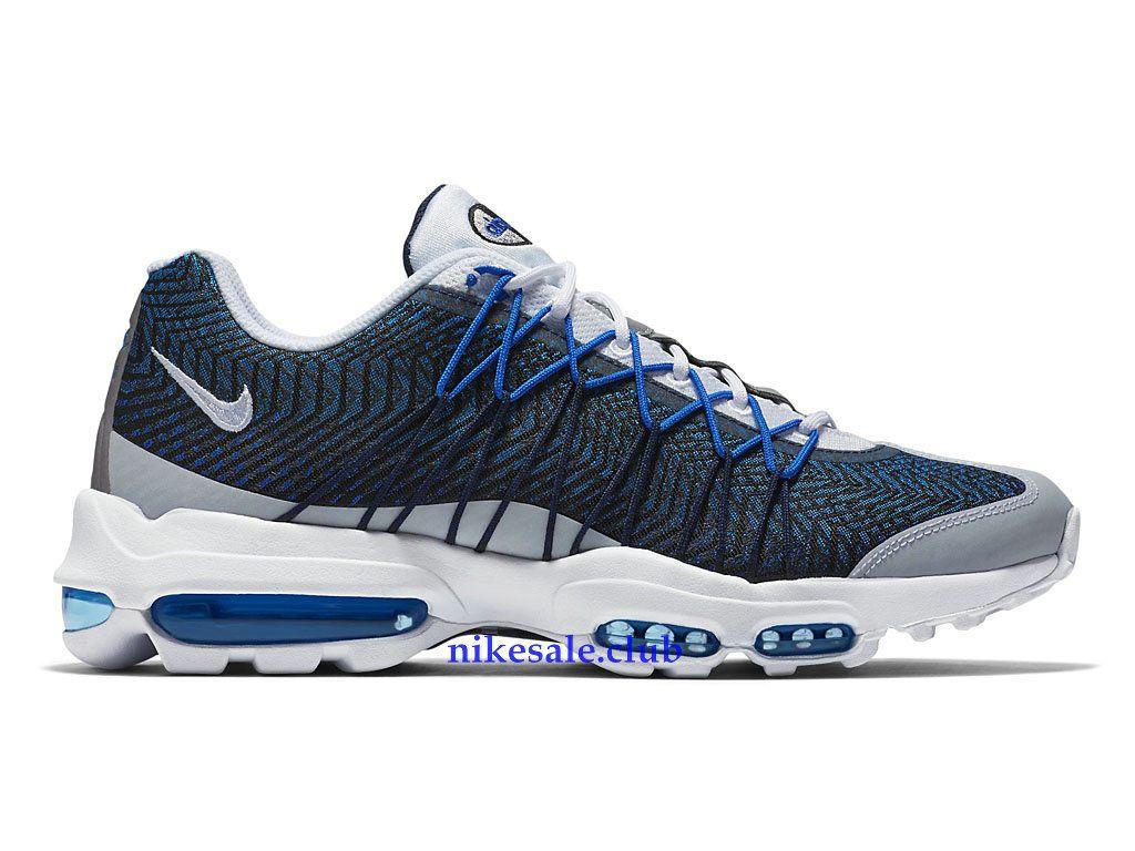 Nike Air Max 95 - Ultra Jacquard - Bleu/Gris/Blanc