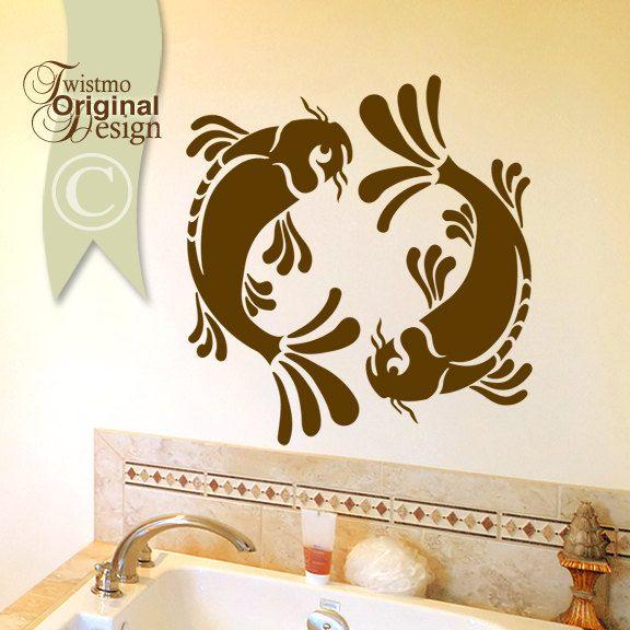 Koi Fish Wall Art Google Search Koi Fish Pinterest Fish - Vinyl wall decals asian