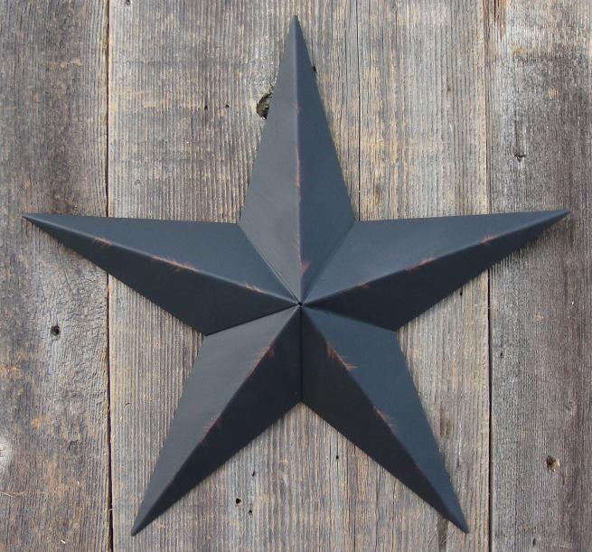 Barn Star...Black means protection. | Home Ideas & Decor ...