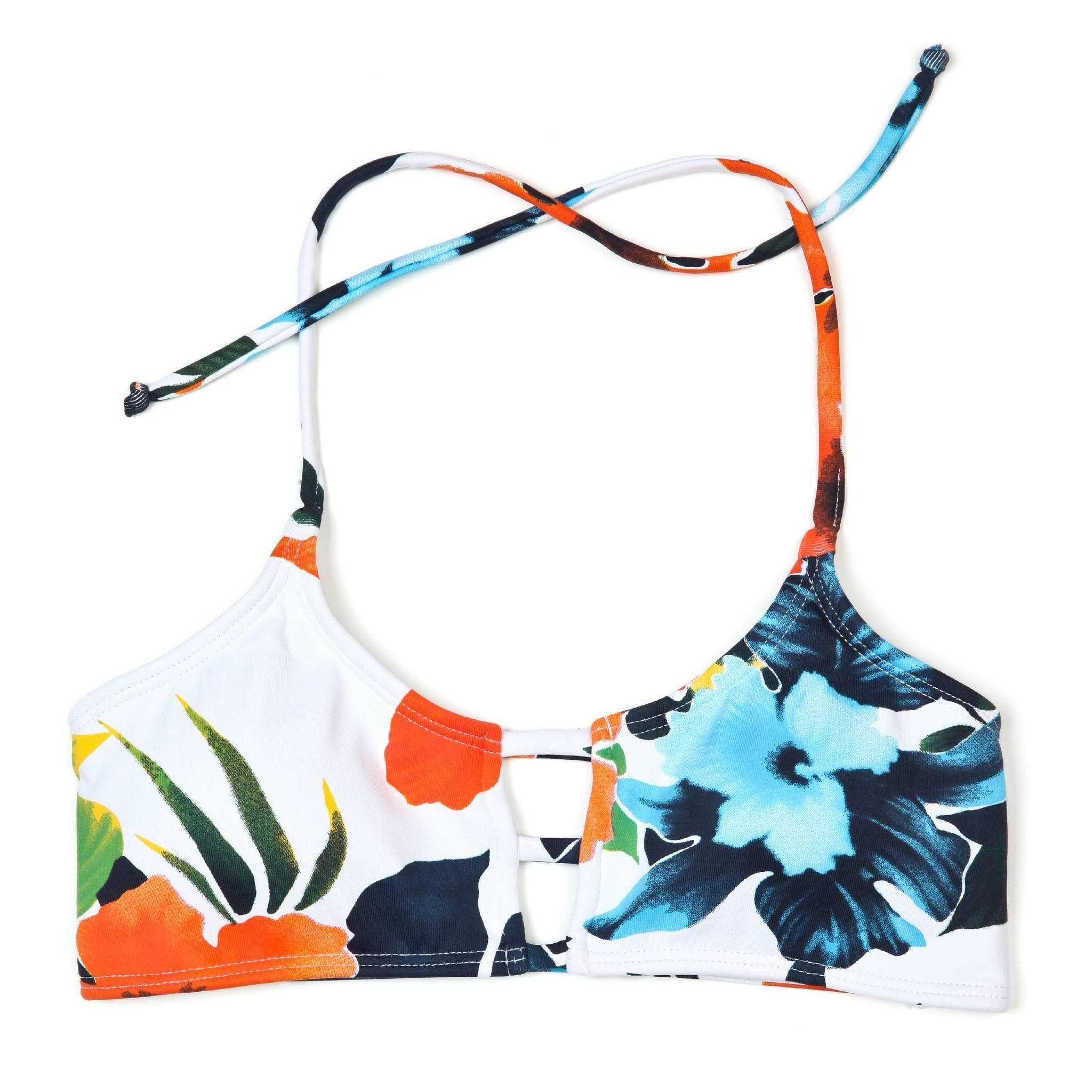 a510a806a9 Hibiscus Honey Mau Loa Top - Midori Bikinis LLC - 1