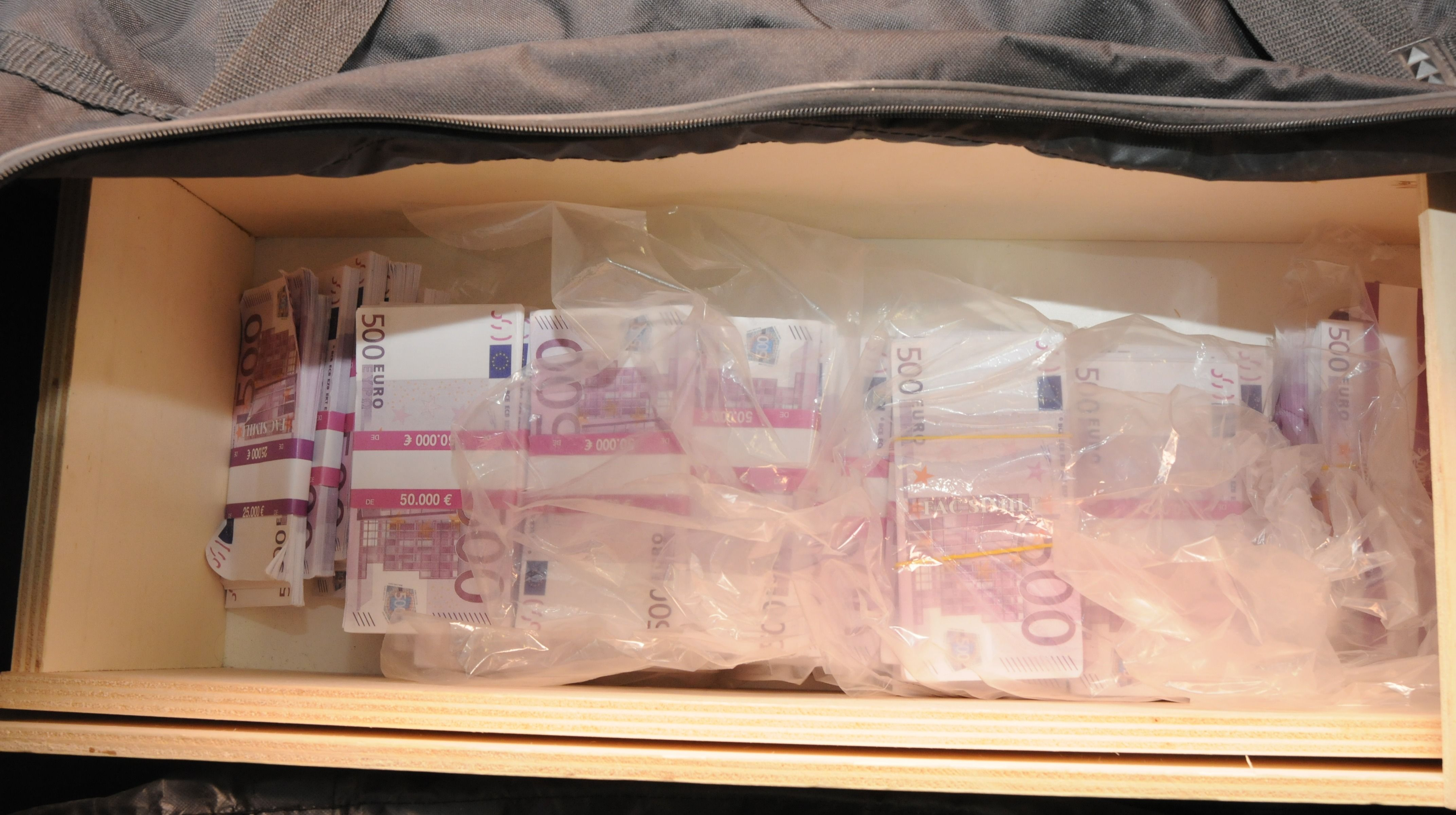 Millions Of Pounds Of Fake Cash Discovered In Manchester Notes