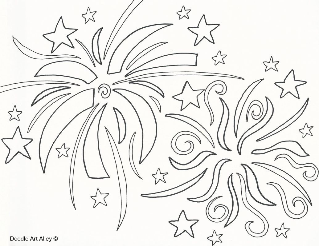 New Year S Eve Coloring Pages New Years