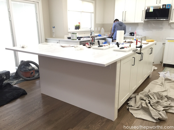 Installing Ikea Quartz Countertops Frosty Carrina Kitchen