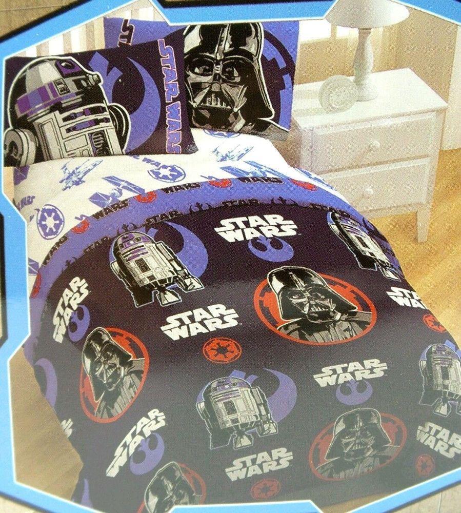 Star Wars Disney Twin Comforter 64x86 Inch Machine Washable New
