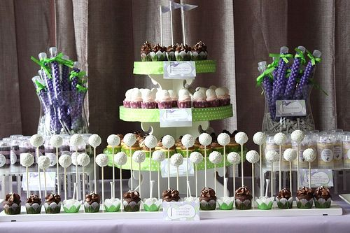 Admirable Girly Golf Themed Dessert Table This Table Is Preppy Chic Home Interior And Landscaping Pimpapssignezvosmurscom
