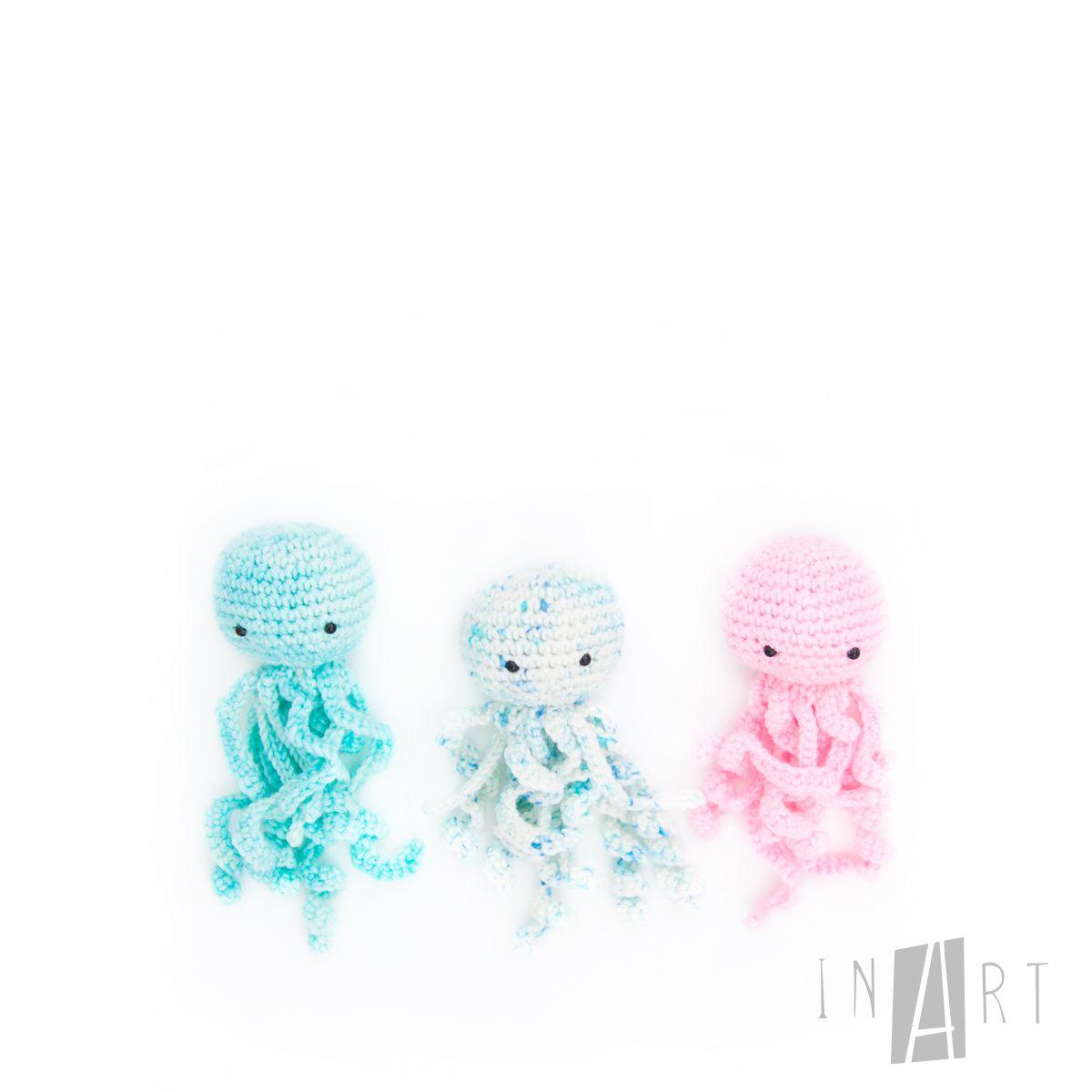 Amigurumi Jelly Fish - FREE Crochet Pattern / Tutorial | Crochet ...
