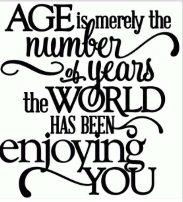Age Is Just A Number Quotes Birthday Quotes Best Birthday