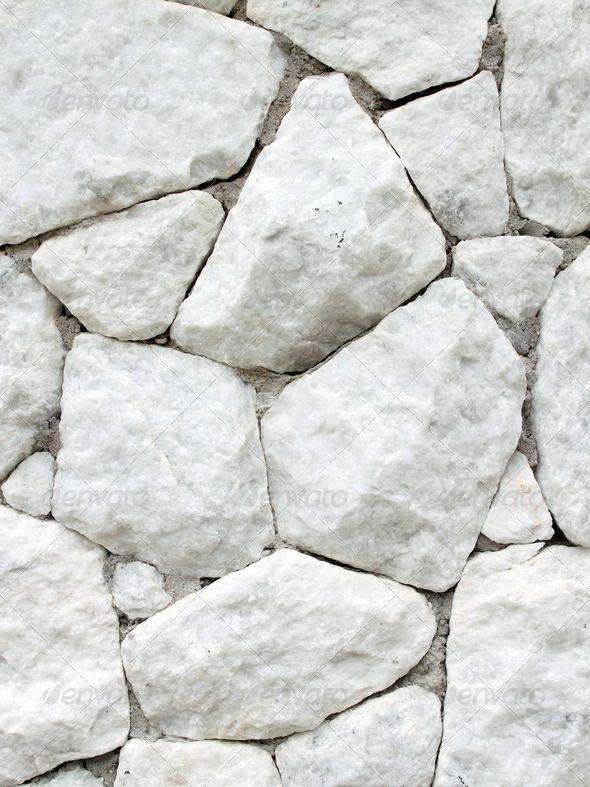 rough stone white architecture - Google Search