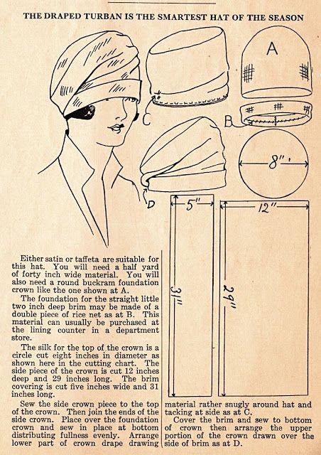 Cloche Hat Pattern- Felt Hats- Fleece Hat Patterns   Sew Hats ...