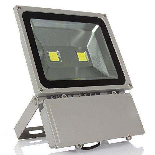 Morsen 100W Led Flood Light Outdoor Commercial Lighting Fixture Warm White  Waterproof IP65 85 265V