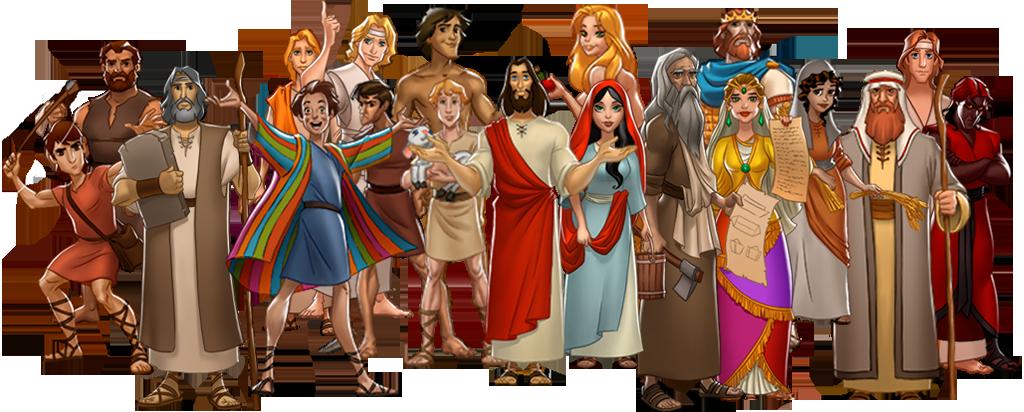 Animated characters, Character, Bible