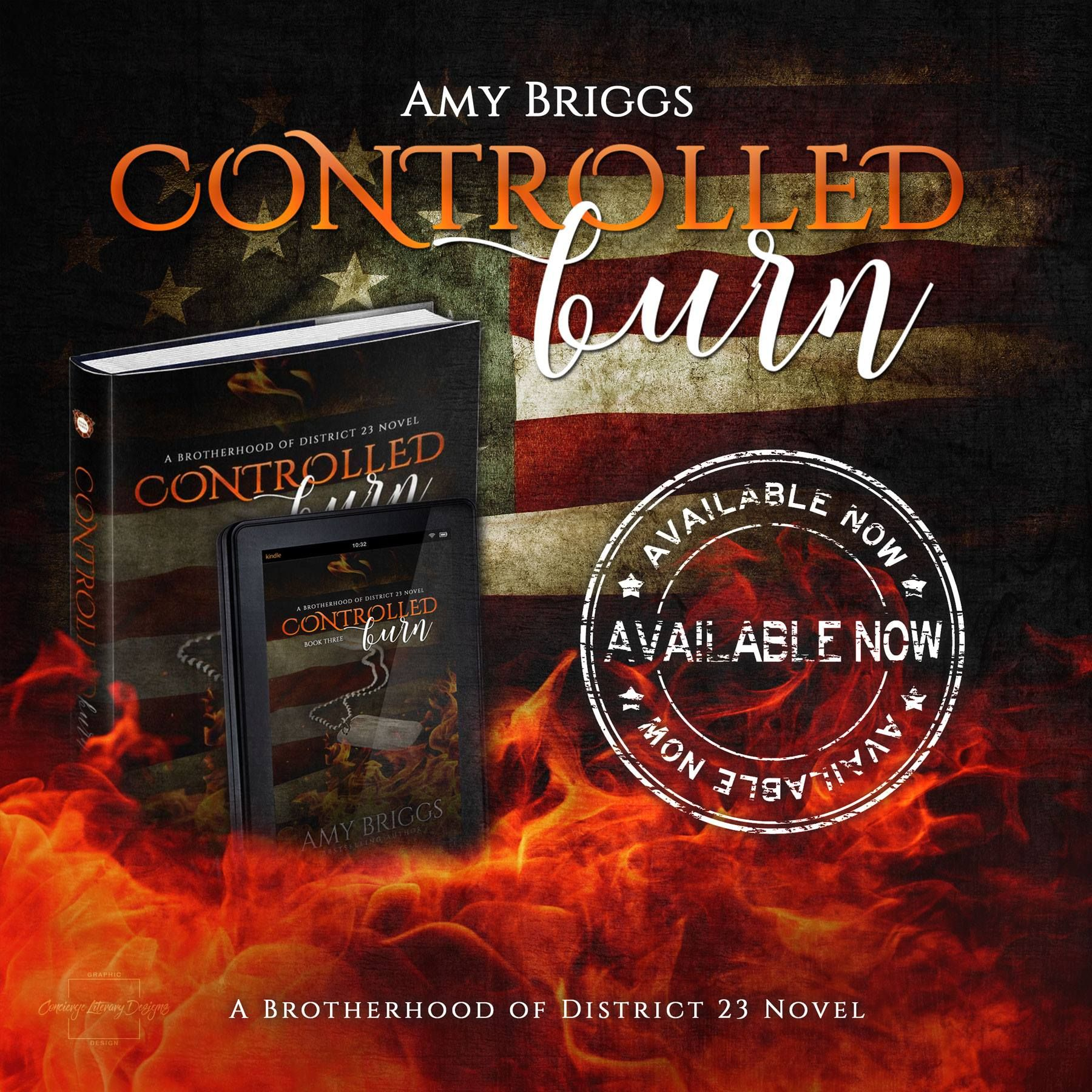 """★★★ HOT NEW RELEASE ★★★ """"Emotional and as raw as its real, you won't want this burn controlled. Amy Briggs does it again."""" — #1 New York Times Bestselling Author, Jennifer L…"""