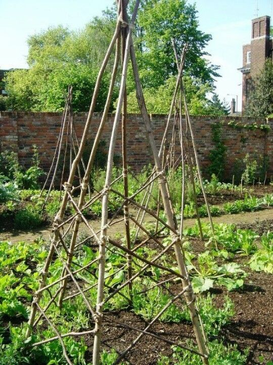 Nell wooden: More Twig arbor plans