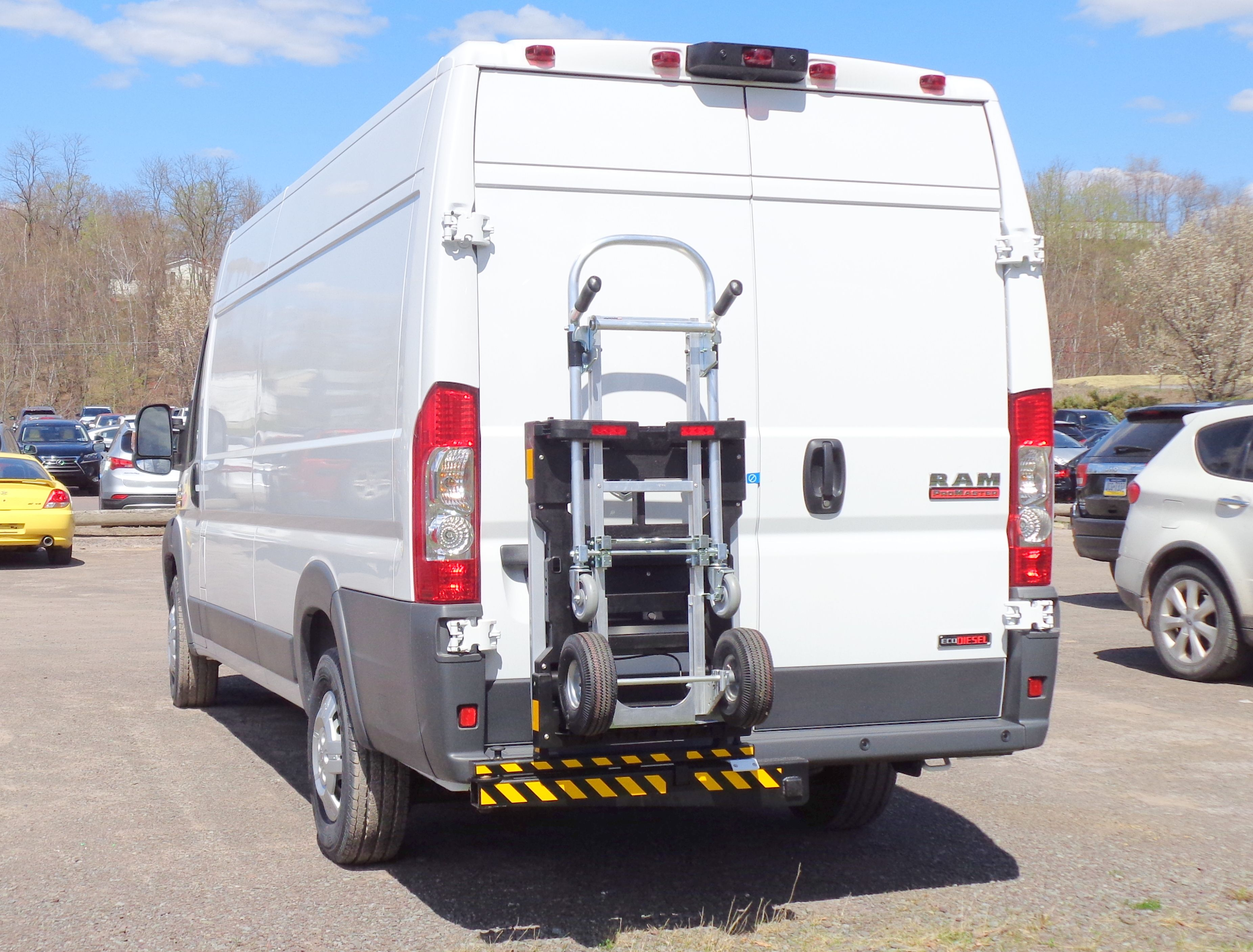 Dodge Promaster Commercial Cargo Van With Hts Systems Safety And Productivity Delivery Equipment Faster Deliveries More C Truck Transport Hand Trucks Trucks