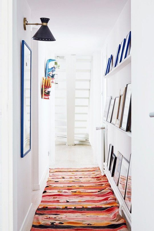 See more images from what to do with your long, narrow hallway on domino.com