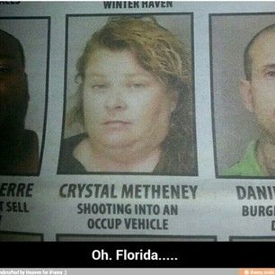 This woman, whose parents are probably regretting they gave her that name:   25