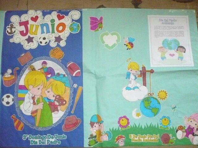 Resultado de imagen para periodico mural junio preescolar for Amenidades para periodico mural