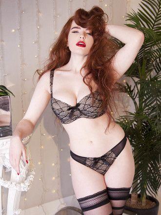 Playful Promises Brigitte Fan Lace Panty