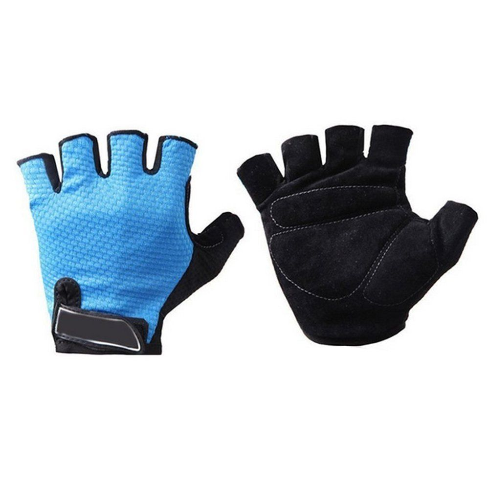 Fingerless gloves climbing - Youdirect Tm Cycling Bike Bicycle Riding Climbing Microfiber Gel Padded Half Finger Fingerless Gloves For Men Women Unisex Size L Be Sure To Check Out