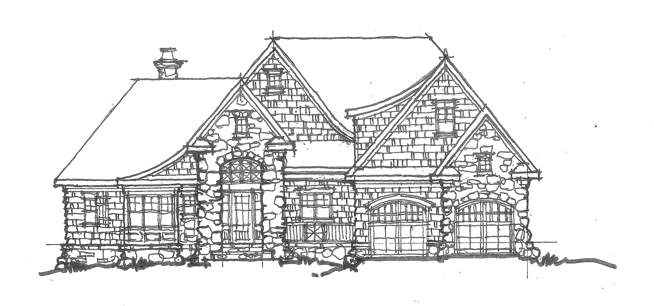 Home Plan 1443 Small Cottage House Plans Small Cottage Small Cottage Designs