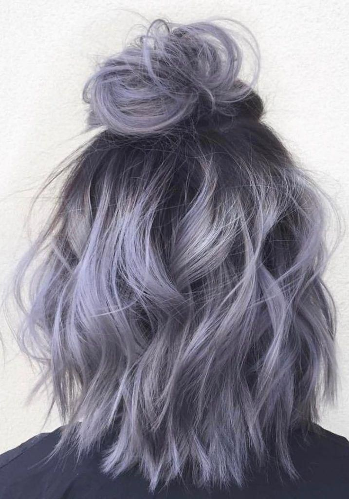 30+ Purple grey ombre hair ideas