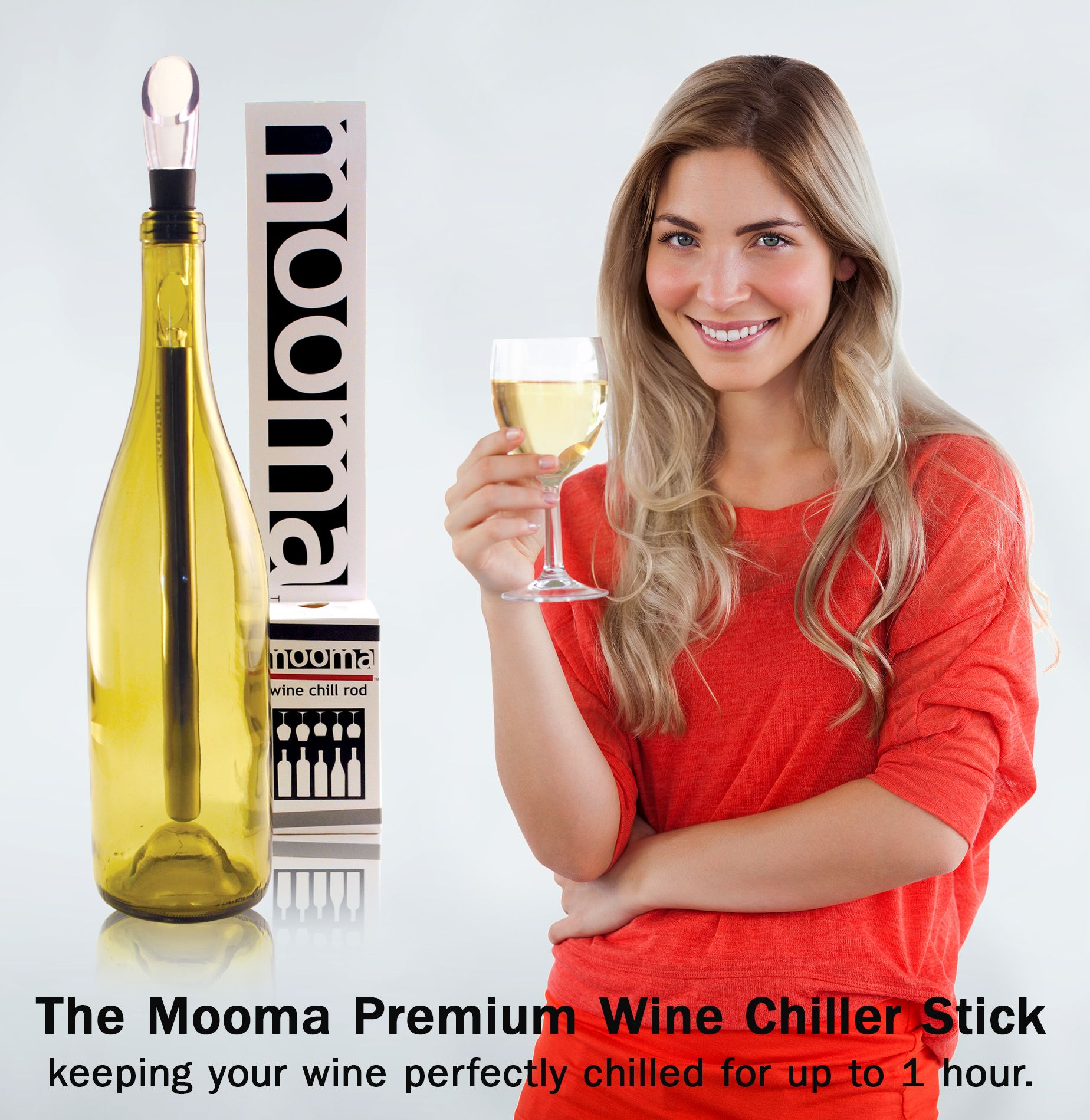Wow Love This Wine Cooler Stick The Stainless Steel Chill Rod Gets Soooo Cold Keeps My Wine Perfectly C Wine Chiller Stick Chilling White Wine Wine Chiller
