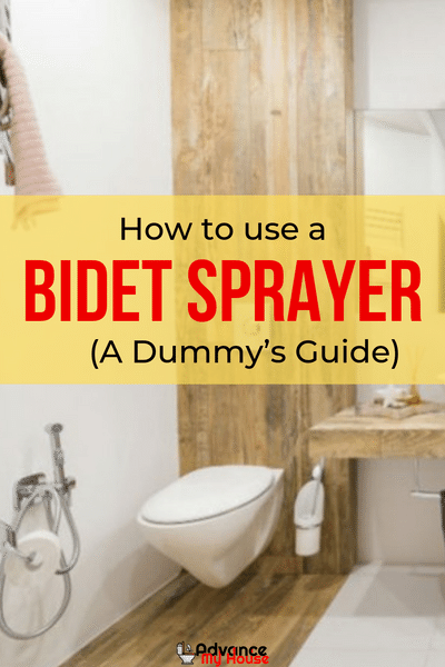 How To Use A Bidet Sprayer A Dummy S Guide Bidet Sprayer Bidet