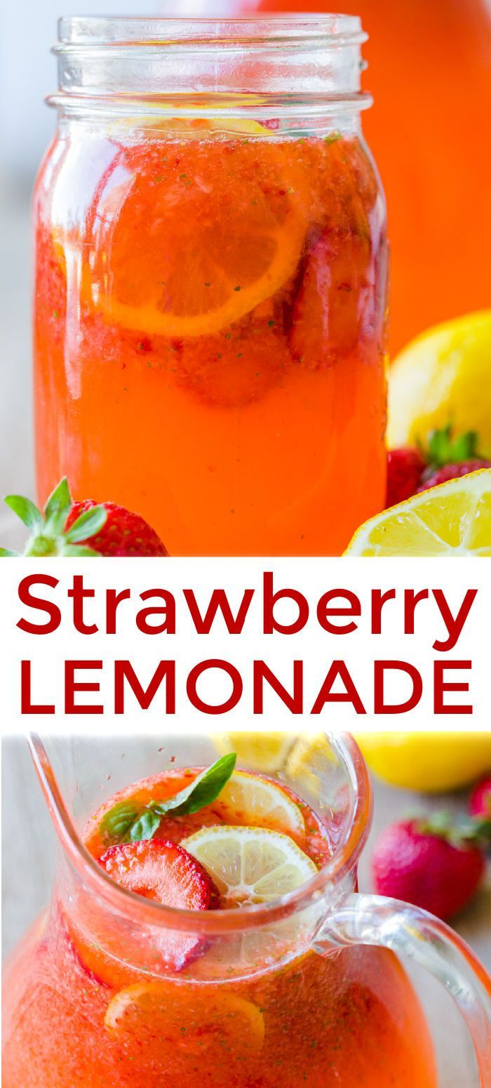 Strawberry Lemonade Recipe (Restaurant Style) - NatashasKitchen.com