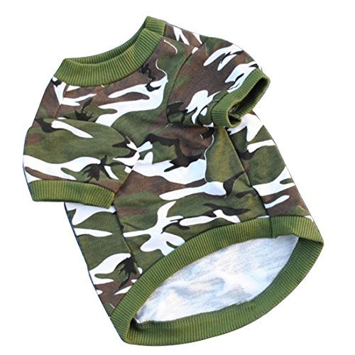 MRJiang Thermal Cotton Camo Autumn Pet Dogs Clothes Warm Dog Apparel * Read more reviews of the product by visiting the link on the image.-It is an affiliate link to Amazon.