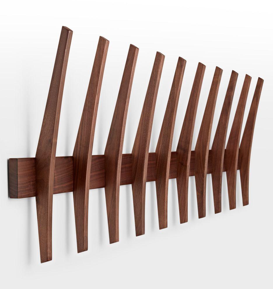 Brendon farrell fin hook rack hook rack door entry and living rooms