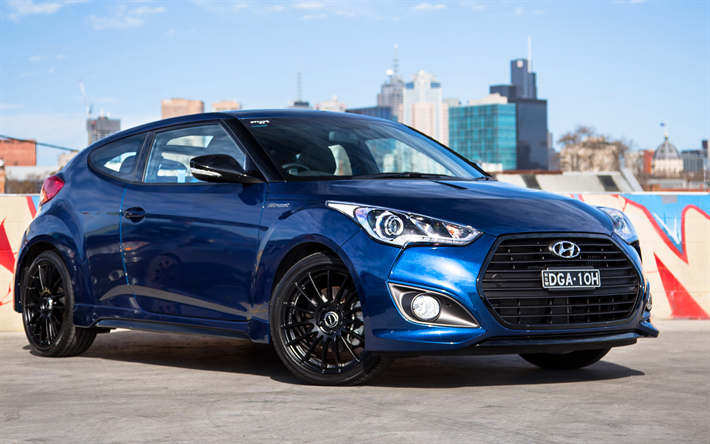 2017 hyundai veloster black. download wallpapers hyundai veloster, 2017, korean cars, blue sports hatchback, 2017 veloster black